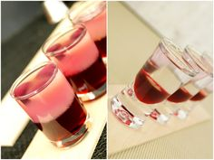 Proste shoty na imprezy cz. 1 Blue Curacao, Mojito, Mcdonalds, Red Wine, Smoothies, Panna Cotta, Alcoholic Drinks, Food And Drink, Cooking