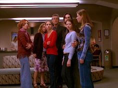 Buffy the Vampire Slayer - The Body . watched this one tonight. right in the feels! Buffy Season 5, Bouncy Hair, Teen Movies, Joss Whedon, Buffy The Vampire Slayer, Actors & Actresses, Sailor, Tv Shows, Feels