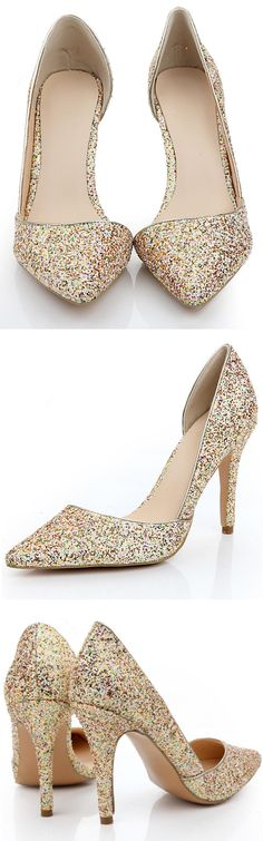 Sequin d'orsay Pumps ❤︎ Perfect For Summer Weddings