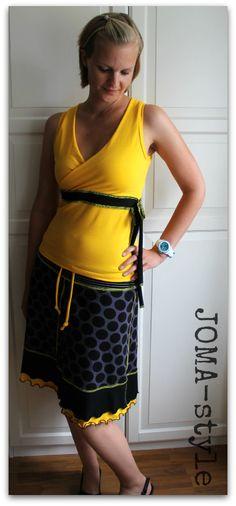 JOMA-style: FrauLuise mit Jersey-Rock-Freebook von FRAUliebstes