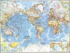 National Geographic World Political Map.90 Best Vintage National Geographic Maps Images National