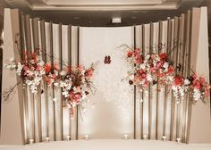 Fashion show stage backdrops wedding decorations 63 trendy Ideas Wedding Backdrop Design, Wedding Stage Decorations, Wedding Ceremony Backdrop, Backdrop Decorations, Chinese Wedding Decor, Oriental Wedding, Wedding Table Deco, Wedding Wall, Wedding Photo Walls