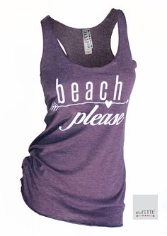 189bb4407edb8 beach please. summer tank top. womens tank top. beach clothes. bathing suit  cover up. racerback tank