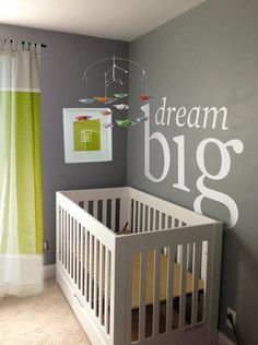 To spice up your nursery add a motivational or favourite quote to the wall above your crib. #nursery #remax #remaxnova #cohenmacinnis