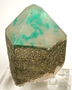 Ajoite in Quartz - South Africa
