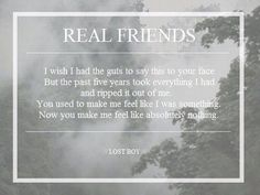 lost boy // real friends