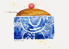 szuflada z rysunkami: Miećka odbijana Illustration, Illustrations