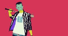 2010 : boneface Frankenstein Art