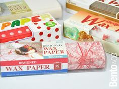 590 JPY            Here come 5 packs of illustrated and colored Wax Paper.  Wax Paper can be used for wrapping your sandwiches, cookies,...