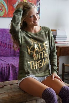 To Kale With Them Super Soft Pullover
