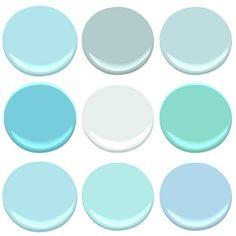 Ideas Exterior Paint Colors For House Blue Cottages Porches For 2019 Exterior Paint Colors For House, Interior Paint Colors, Paint Colors For Home, House Colors, Ocean Blue Paint Colors, Beachy Paint Colors, Teal Paint, Color Blue, Blue Green
