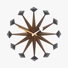 Horloge, Polygon Clock, George Nelson, 1948-1960 - VITRA - Find this product on Bon Marché website - Le Bon Marché Rive Gauche