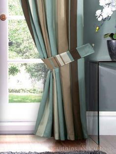 Curtain Panels In Turquoise And Brown Curtain Panels Turquoise
