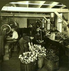 MAKING STEREOSCOPES  -- A Section of the Stereoscope Assembly Room by Okinawa Soba, via Flickr