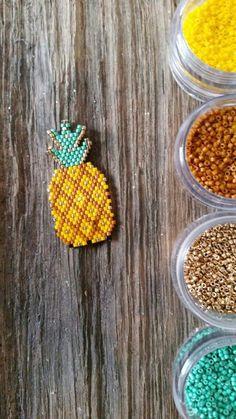 Bijuterias inspiradas no abacaxi DIYs
