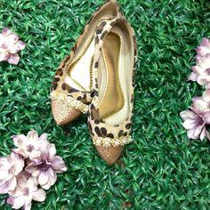 Sapatilha Onça Elegant R$ 87,99 no site www.ShopShoes.com.br