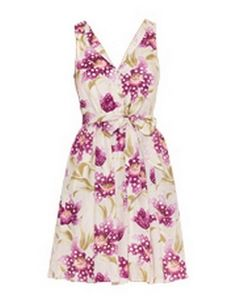 FLEUR WOOD 'Violet Town' sun dress #MyerSS13 #floral