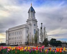 Cedar City Utah LDS (Mormon) Temple Construction Photographs
