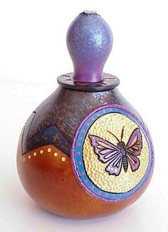 Gourd crafting tutorial - Making lids for gourd art