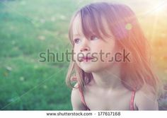 Adorable little girl taken closeup outdoors in summer by Melissa King, via Shutterstock Cute Little Girls, Close Up, Photo Editing, Royalty Free Stock Photos, Outdoors, King, Pictures, Photography, Image