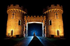 fairy tale castle wedding