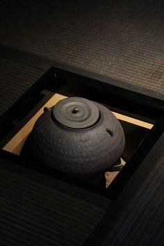Japanese tea kettle for tea ceremony............green or MATCHA Tea