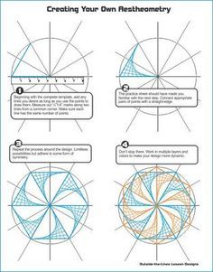 Math/Art Project Bundle - Tessellations & Aestheometry from Outside the Lines Art Activities on TeachersNotebook.com (88 pages)