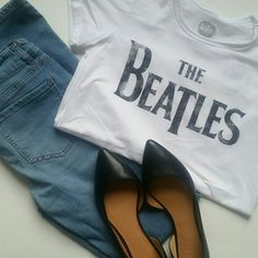 8d1687cc957 Selling this NEW Beatles Tshirt in my Poshmark closet! My username is:  annae86.