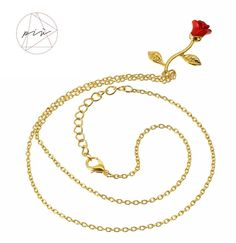 Collar Romántico Rosa (3)