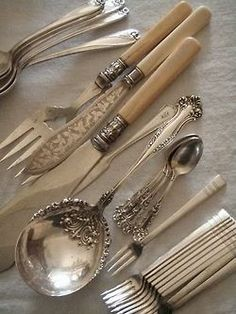 love collecting old cutlery from antique fairs