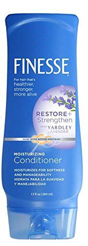 Finesse with Yardley Lavender Moisturizing Conditioner, 13 Ounce (Pack of 6) *** This is an Amazon Affiliate link. Learn more by visiting the image link.