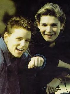 The Coreys (My BFF Amber was in LOVE with Corey Haim!)