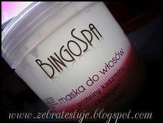 Zebra Testuje: BingoSpa - Maska do włosów z proteinami kaszmiru i...