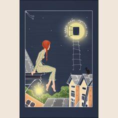 Я дарю тебе лунные сны - Татьяна Перова   Магазин открыток Cardspoint.ru