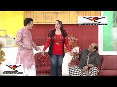 Naseem Vikki Nasir Chaniyoti & Megha Full Funny Stage Drama 2016 desi st...