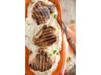 Lighter Stuffed Pork Chops
