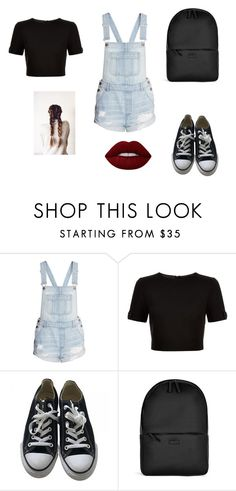 """""""Untitled #25"""" by sara-tadic-1 ❤ liked on Polyvore featuring Ted Baker, Converse, Rains and Lime Crime"""