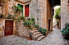 Croatia - Trogir: Marble Streets
