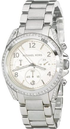Save $50.24 on Michael Kors Women`s MK5165 Silver Blair Watch; only $174.76