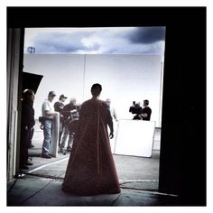 Zack Snyder shares image of Henry Cavill's first Superman costume test