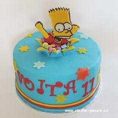 Bart Simpson cake - Cake by Zdenka Michnova Simpsons Cake, Simpsons Party, 11th Birthday, Birthday Cake, Birthday Ideas, Bart Simpson, Cupcake Cookies, Cake Art, Let Them Eat Cake