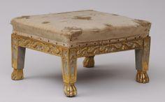 antique foot stools   Pair Antique Italian Footstools