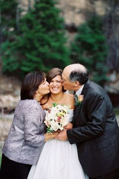 Your parents play particular role at your wedding day, so why wouldn't get photos of that. You can devote a special time for family wedding photos.