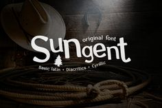 Sungent by NEWFACE on Creative Market