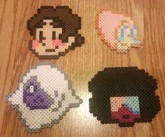 Steven Universe faces perler beads by by JunesPerlerVillage