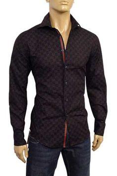 3f63772e9cb0 GUCCI Men s Button Up Dress Shirt  69   FiloMilano.com    164.95 Gucci  Shirts