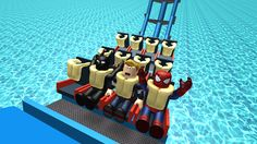 Escape Superheroes Obby! - Roblox