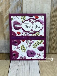 I'm excited to show you how to make a gorgeous double gate fold card today with a NEW stamp set and beautiful new paper too. Watch the video tutorial! Card Making Tutorials, Card Making Techniques, Making Ideas, Fun Fold Cards, Folded Cards, Napkin Cards, Poppy Cards, Double Gate, Stamping Up Cards