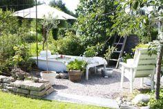 Hanna fixade ett eget utespa i trädgården | Leva & bo | Heminredning Allt för Hus & Hem | Expressen