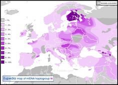 Haplogroup W (mitochondrial DNA) - Eupedia